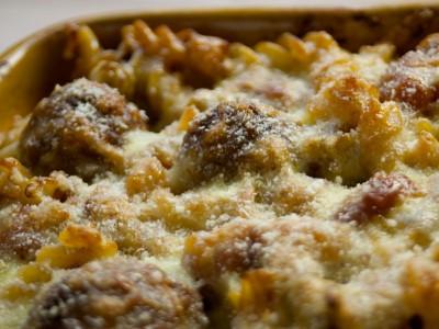 Meatball-Pasta-Bake