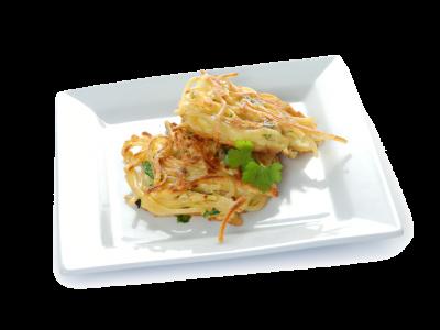 Spaghetti-Fritters