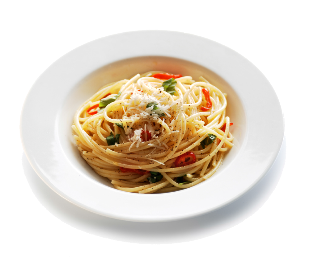 Spaghetti with Chilli and Garlic - Cook Italia