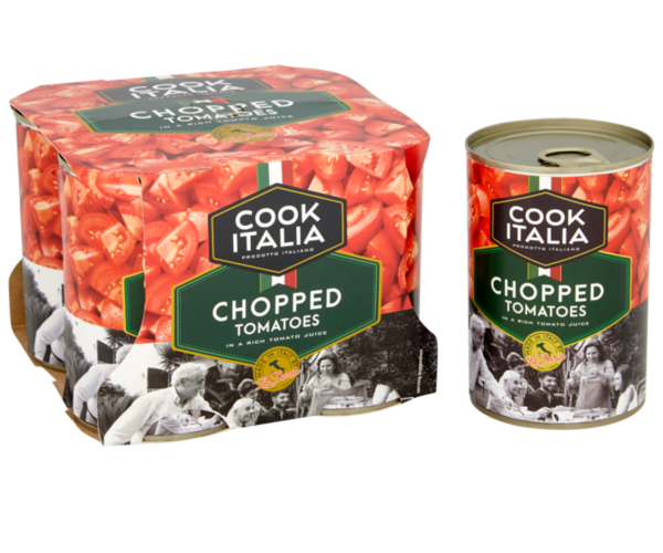 Cook Italia Chopped Tomatoes 4 pack