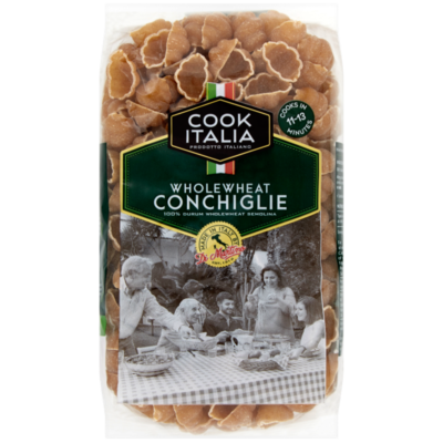 Cook Italia Wholehwheat Conchiglie pasta shells